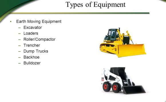3 Types of Equipment Earth