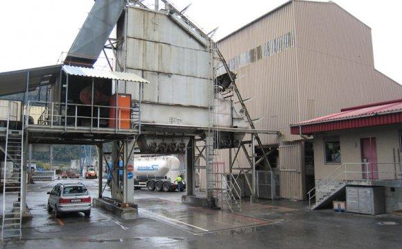 AMMANN Asphalt mixing plant