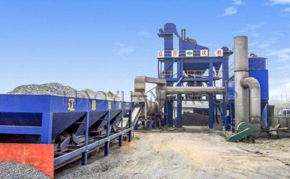 LB1 asphalt mixing plant