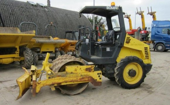 Bomag BW124-PDH-3 Sheeps Foot