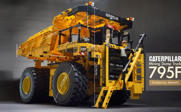 Lego Technic Caterpillar Dump