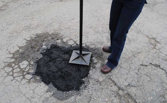 Pothole in your driveway?