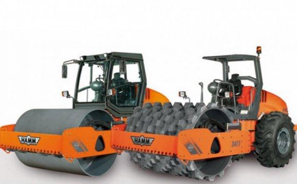 Hamm 3411 Roller Compactor