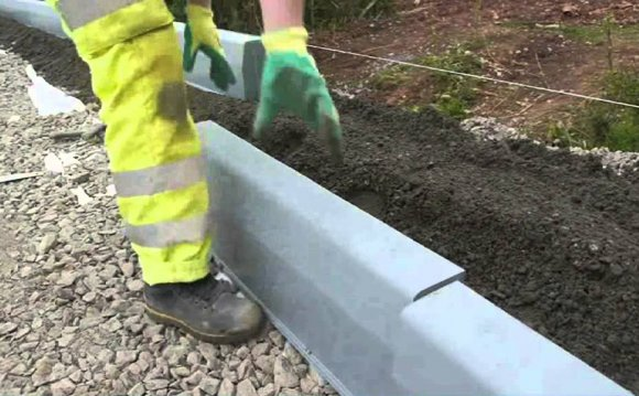 How to lay Kerbs - Aggregate