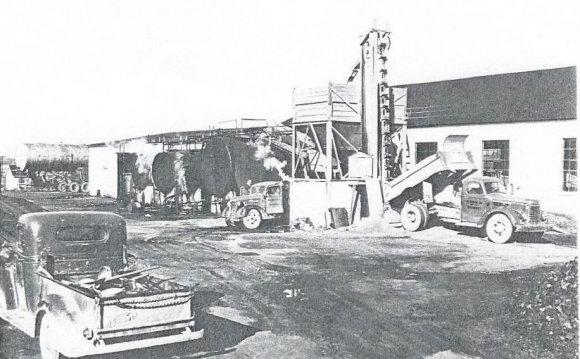 NY 1950 blacktop plant