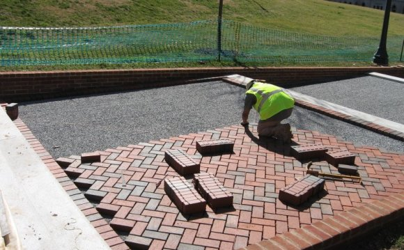 Pervious Brick Pavers