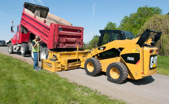 Road Widener Skid Steer