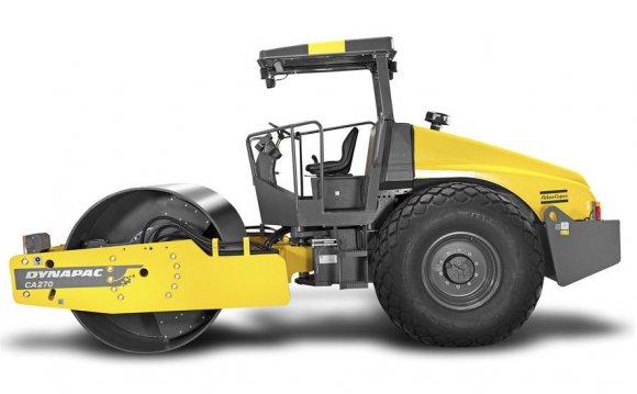 Single-cylinder road roller