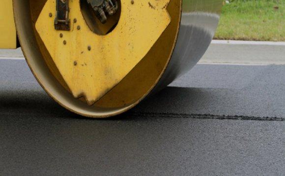 Blacktop asphalt new