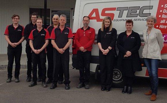 Team at Astec Equipment
