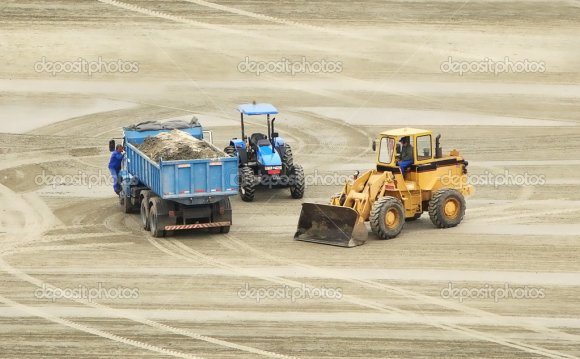 Three Construction site
