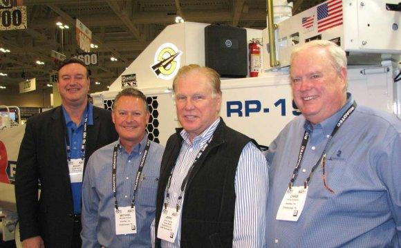 Meeting at Roadtec s exhibit