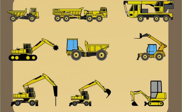 Types Of Construction Vehicles