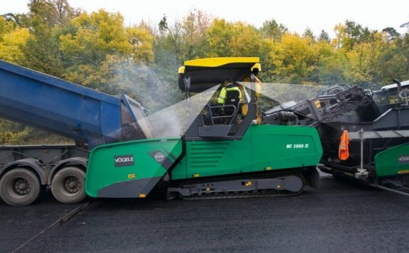 Asphalt pavers / mobile MT