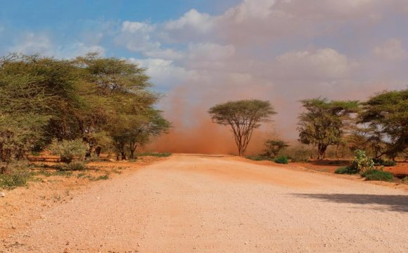 Dirt roads are still very