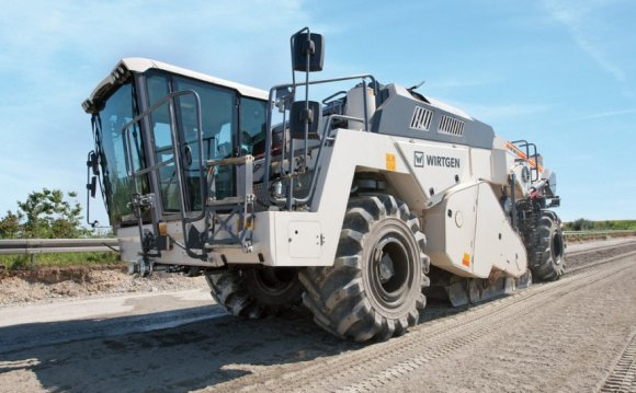 Wirtgen soil stabilizers and