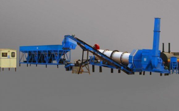 Asphalt mixing plant India