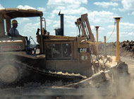 GPS allows our dozer and grader operators to get results within a 1/2-inch tolerance