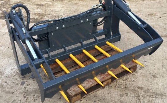 Skid steer milling Attachments