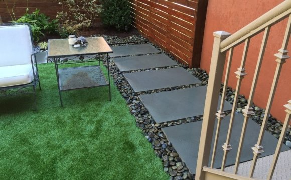 Used concrete pavers