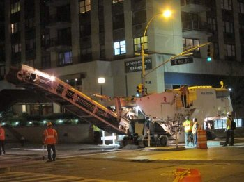 Milling device Helps Finish the Job on NYC Arterial