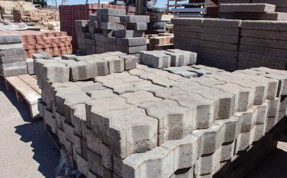 Second Hand concrete pavers