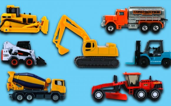 Construction vehicles Names