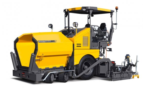 Paver truck