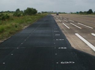photo: dense-graded hot-mix asphalt (HMA) test track