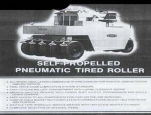 Self-Propelled pneumatic-tired Roller/Compactor Figure 2
