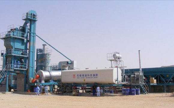 Batch mixing plant