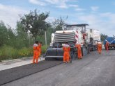 Asphalt used in Road construction