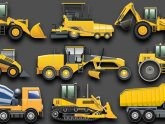 Names of Construction trucks