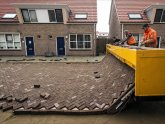 Road brick laying Machine