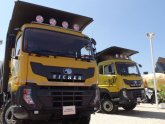 Trucks used in Construction